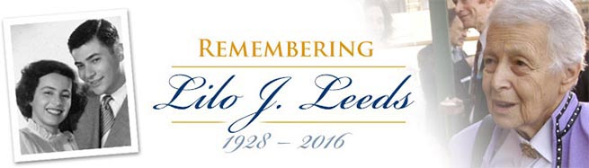 Remembering Lilo J. Leeds