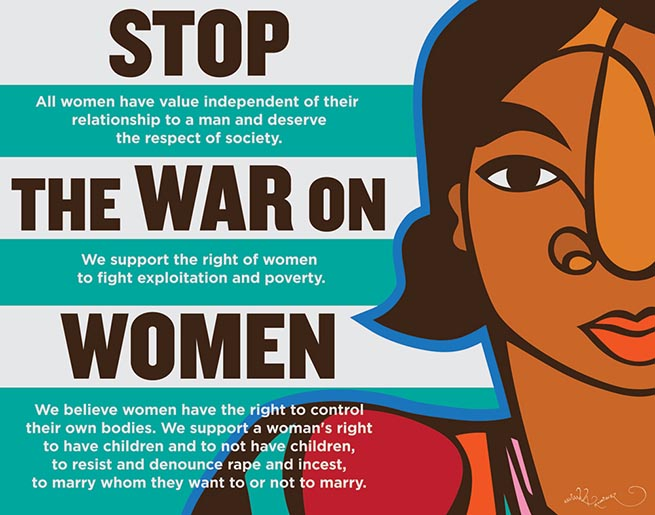 Image: Stop the War on Women
